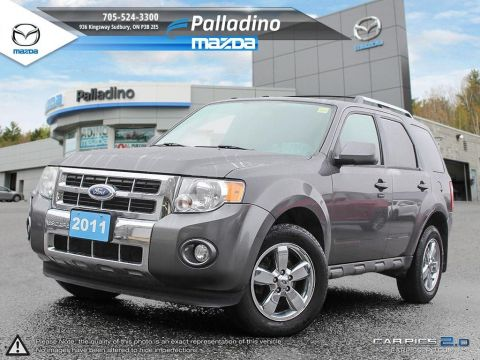 Certified Pre-Owned 2011 Ford Escape Limited 4WD
