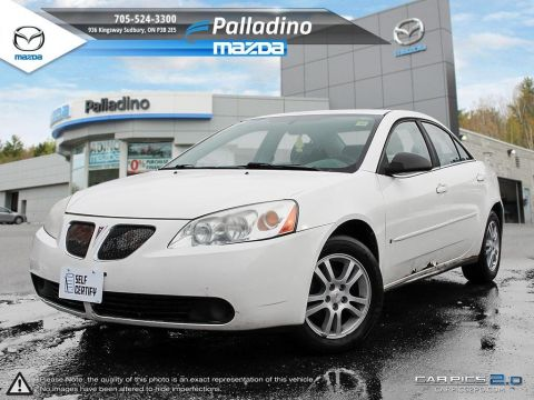 Pre-Owned 2006 Pontiac G6 SELF CERTIFY FWD 4dr Car