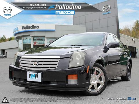 Pre-Owned 2004 Cadillac CTS SELF CERTIFY RWD 4dr Car