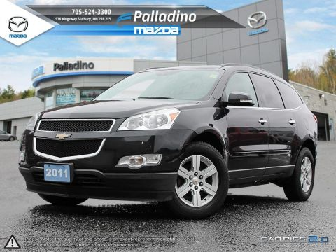 Pre-Owned 2011 Chevrolet Traverse 1LT - AWD - HEATED SEATS AWD