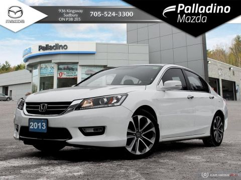 Pre-Owned 2013 Honda Accord Sedan Sport - 2013 IIHS TOP SAFETY PICK+