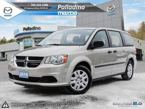 Pre-Owned 2016 Dodge Grand Caravan STOW & GO FWD Mini-van, Passenger