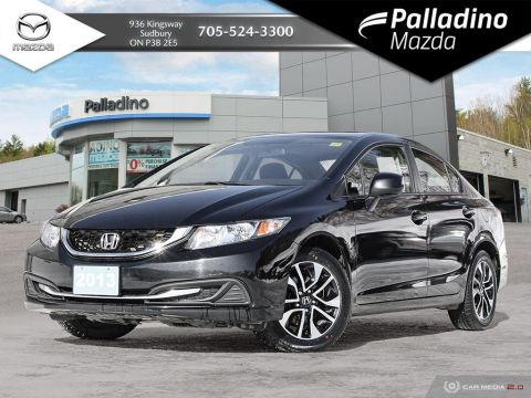 Pre-Owned 2013 Honda Civic Sdn EX - LOW MILEAGE - BACKUP CAMERA