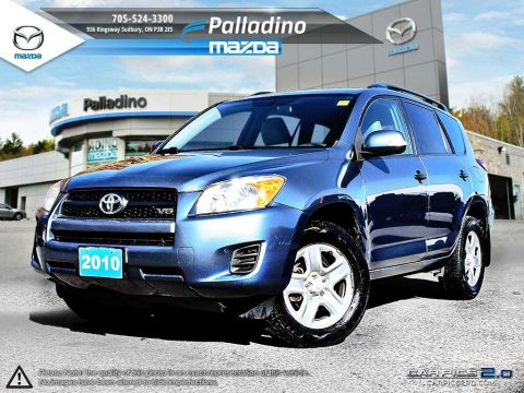 Certified Pre-Owned 2010 Toyota RAV4 BASE V6 4WD