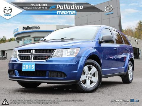 Pre-Owned 2015 Dodge Journey Canada Value Pkg - DUAL CLIMATE CONTROL
