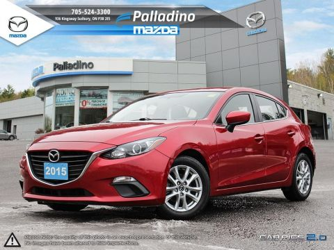 Pre-Owned 2015 Mazda3 GS-NEW TIRES/BRAKES