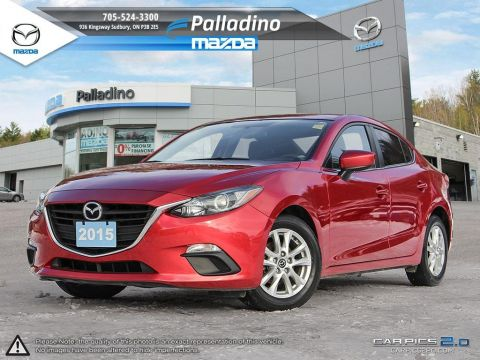 Pre-Owned 2015 Mazda3 GS - NEW BRAKES ALL AROUND-