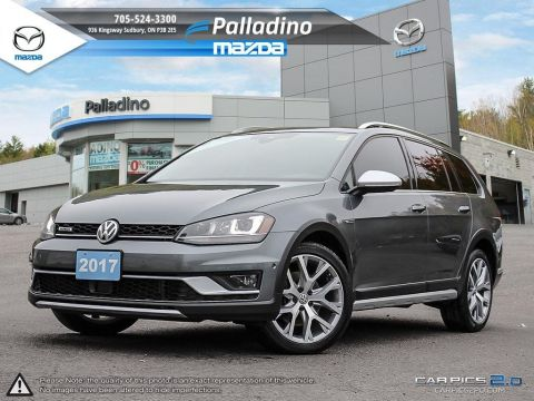 Pre-Owned 2017 Volkswagen Golf Alltrack 1.8 TSI - TURBOCHARGED - NO ACCIDENTS