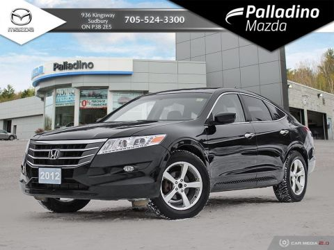 Pre-Owned 2012 Honda Crosstour EX-L -  MASSIVE TRUNK AREA - NO ACCIDENTS - CERTIFIED