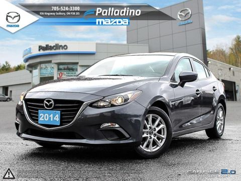 Certified Pre-Owned 2014 Mazda3 GS-SKY FWD 4dr Car