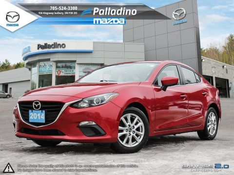 Pre-Owned 2014 Mazda3 GS-SKY - TOP SAFETY PICK - ROOMY INTERIOR