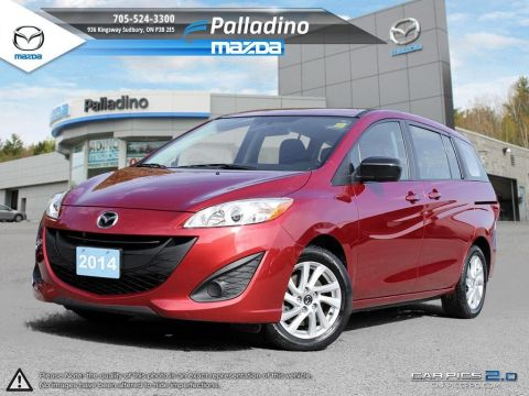 Certified Pre-Owned 2014 Mazda5 GS- LOW MILEAGE FWD Station Wagon