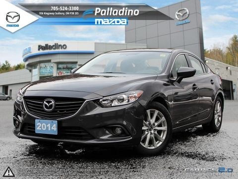 Pre-Owned 2014 Mazda6 GS FWD 4dr Car