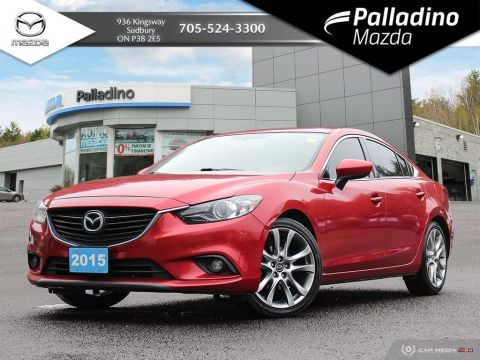 Certified Pre-Owned 2015 Mazda6 GT - NEW BRAKES - SUPERB FUEL ECONOMY-