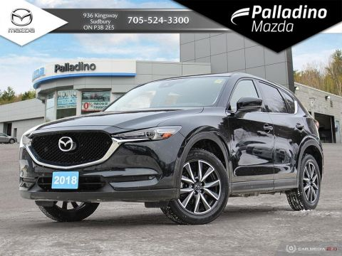 Pre-Owned 2018 Mazda CX-5 GT -CANADA'S BEST SMALL UTILITY VEHICLE