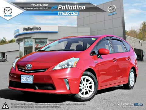 Certified Pre-Owned 2013 Toyota Prius v - EXTREMELY EFFICIENT FWD Hatchback