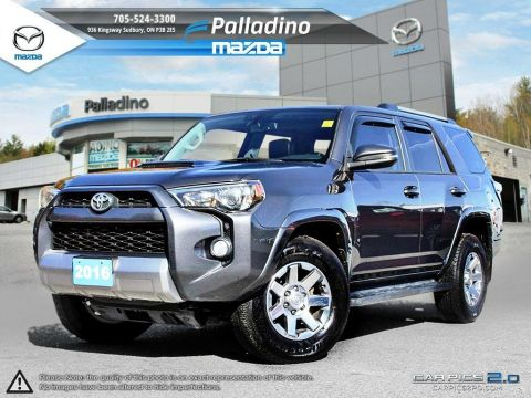 Certified Pre-Owned 2016 Toyota 4Runner SR5- FULLY LOADED 4WD