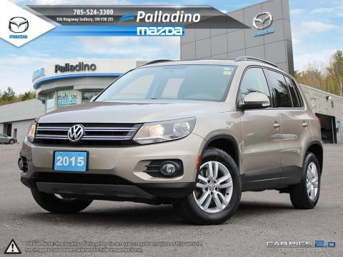 Certified Pre-Owned 2015 Volkswagen Tiguan SPECIAL EDITION - CLEAN CARPROOF - FRESH OIL