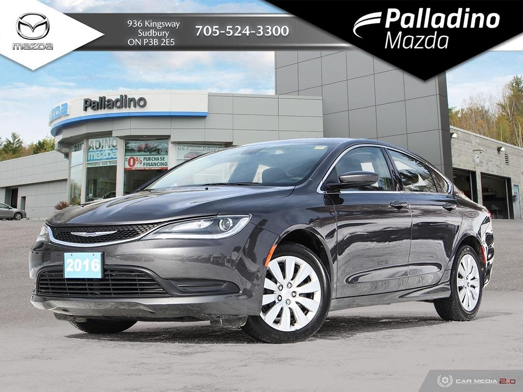 Pre-Owned 2016 Chrysler 200 LX - LOW MILEAGE - IIHS TOP SAFETY PICK