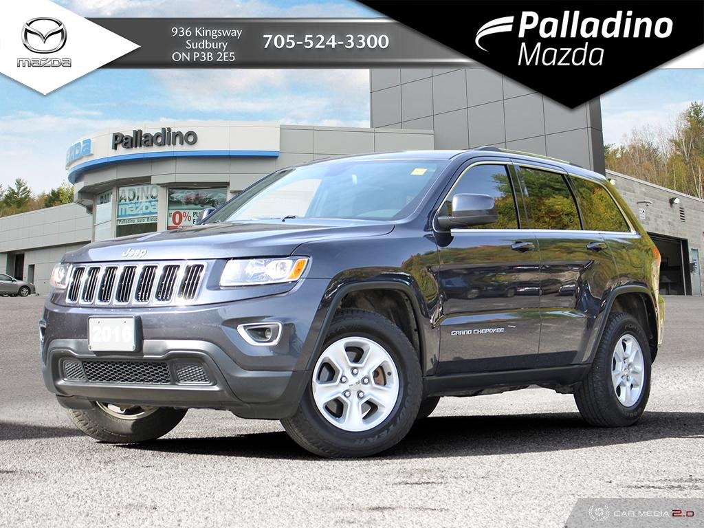 Pre-Owned 2016 Jeep Grand Cherokee Laredo - GREAT FAMILY SIZED SUV - GREAT VALUE - CERTIFIED