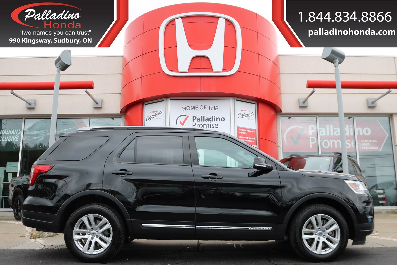Pre-Owned 2018 Ford Explorer XLT-V-6,ALL WHEEL DRIVE,THIRD ROW SEATS