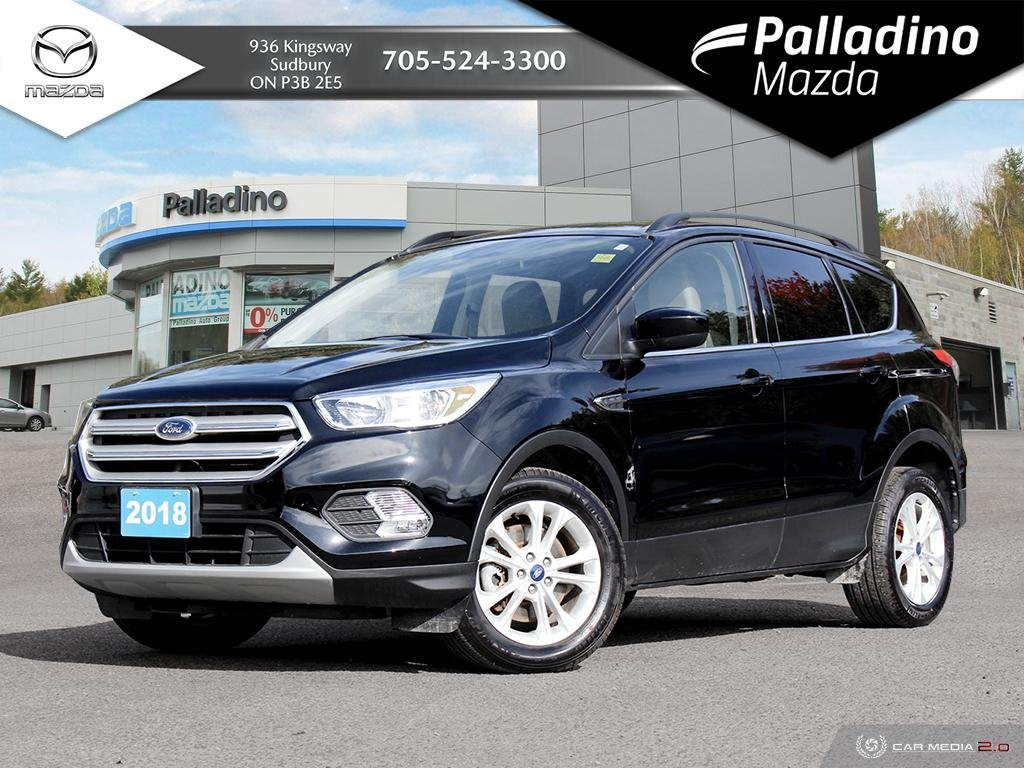 Pre-Owned 2018 Ford Escape SE - ONLY 6600 KMS!!! - LIKE NEW