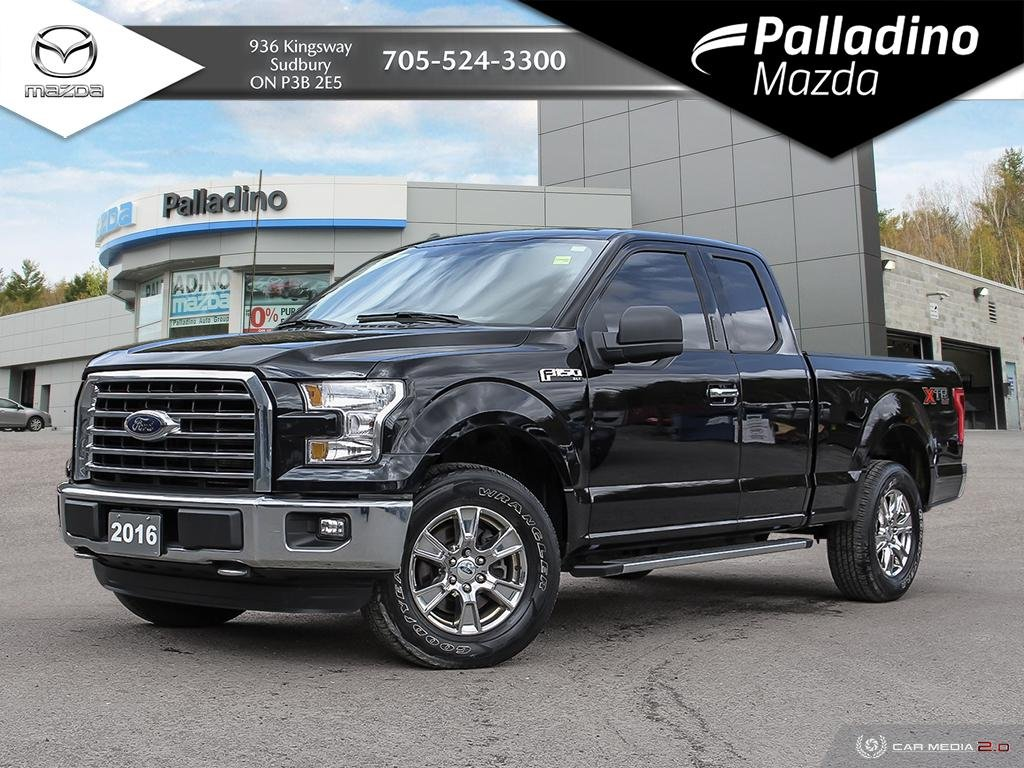 Pre-Owned 2016 Ford F-150 XLT - FUEL EFFICIENT V6 - NO ACCIDENTS