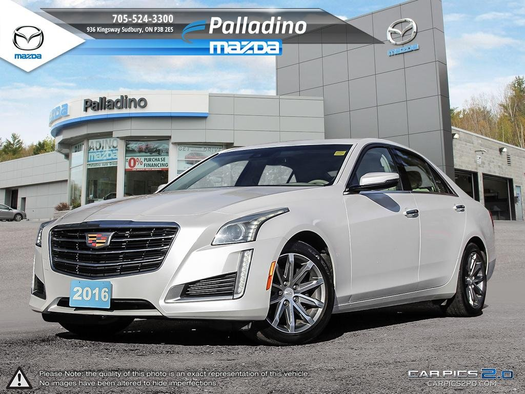 Pre-Owned 2016 Cadillac CTS Sedan Luxury Collection AWD - NEW TIRES AND REAR BRAKES