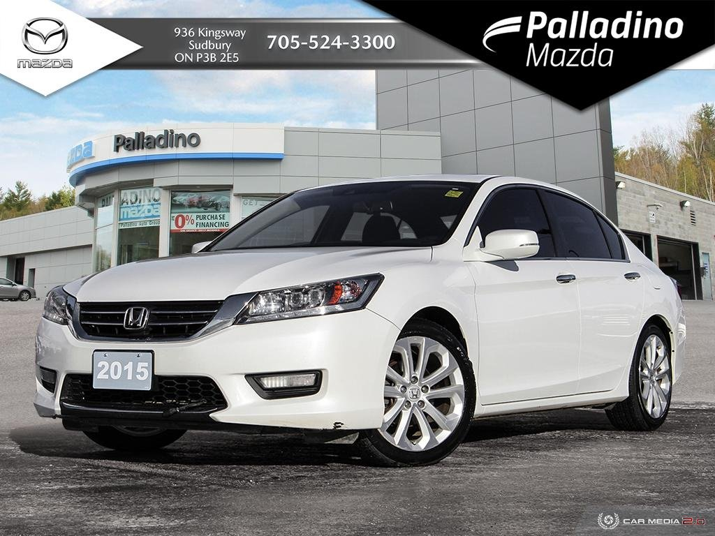 Pre-Owned 2015 Honda Accord Sedan Touring - LOW MILEAGE - NO ACCIDENTS