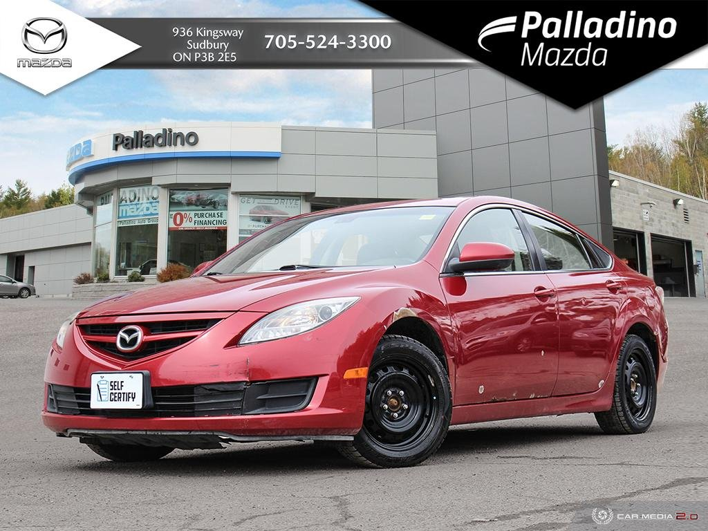 Pre-Owned 2009 Mazda6 GS - SELF CERTIFY