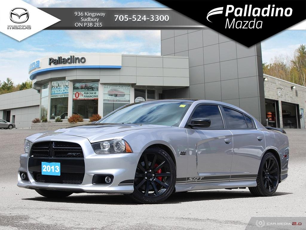 Pre-Owned 2013 Dodge Charger SRT8 - ONLY 392 MADE! - 470HP - RED LEATHER INTERIOR - CERTIFIED
