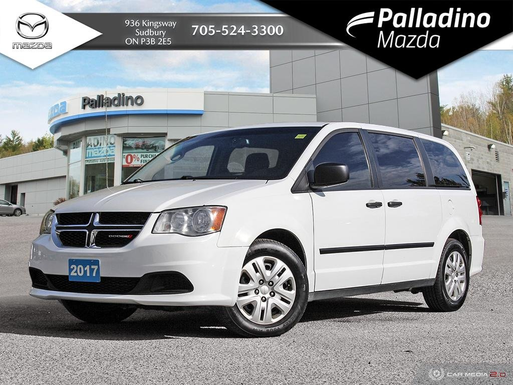 Pre-Owned 2017 Dodge Grand Caravan Canada Value Package - DUAL ZONE CLIMATE - GREAT VALUE