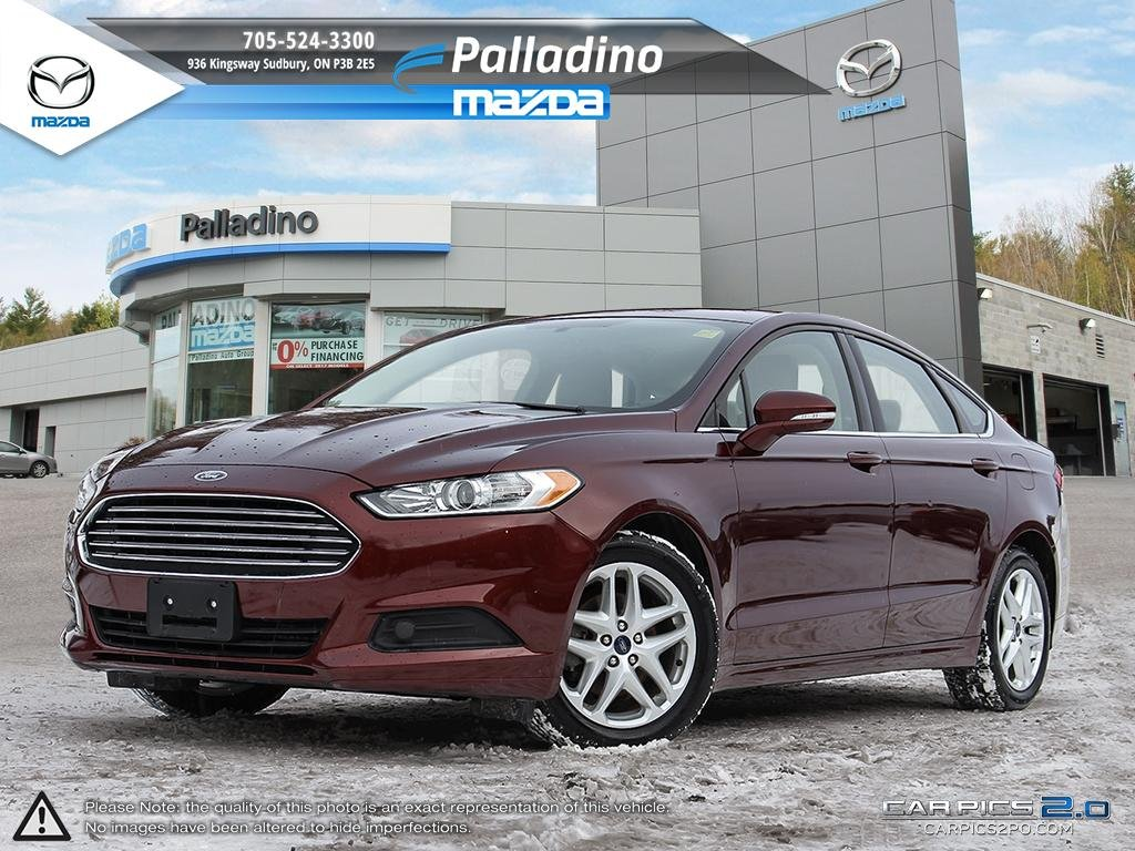 Certified Pre-Owned 2015 Ford Fusion SE - NEW REAR BRAKES - LOW MILEAGE