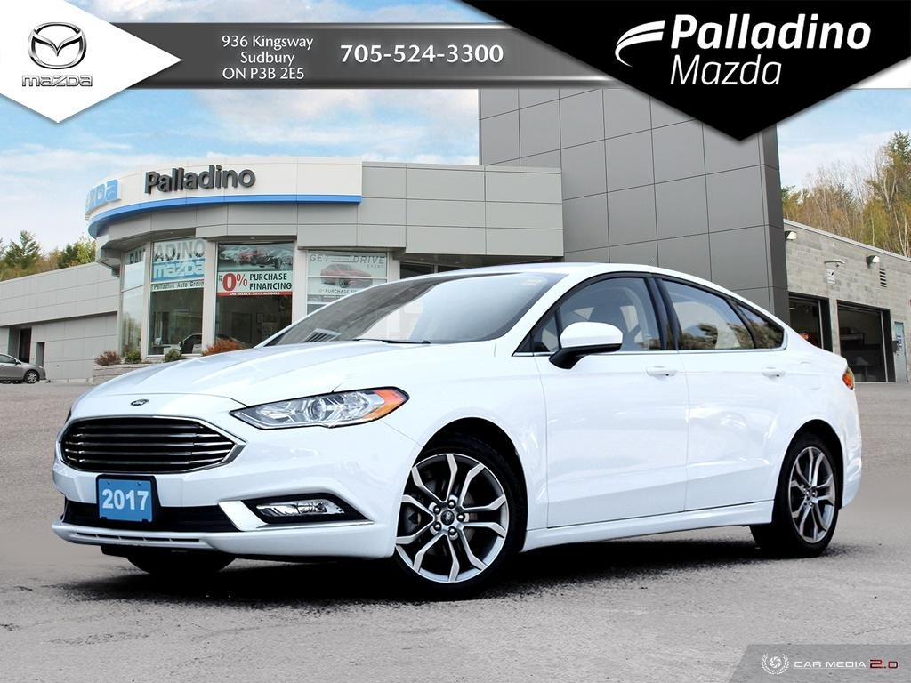 Pre-Owned 2017 Ford Fusion SE - BACKUP CAMERA - LEATHERETTE SEATING - AWD SEDAN