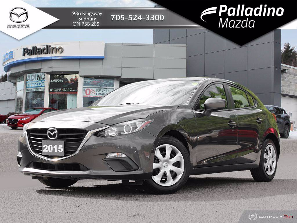 Pre-Owned 2015 Mazda3 GX - ONE OWNER - GREAT FIRST CAR