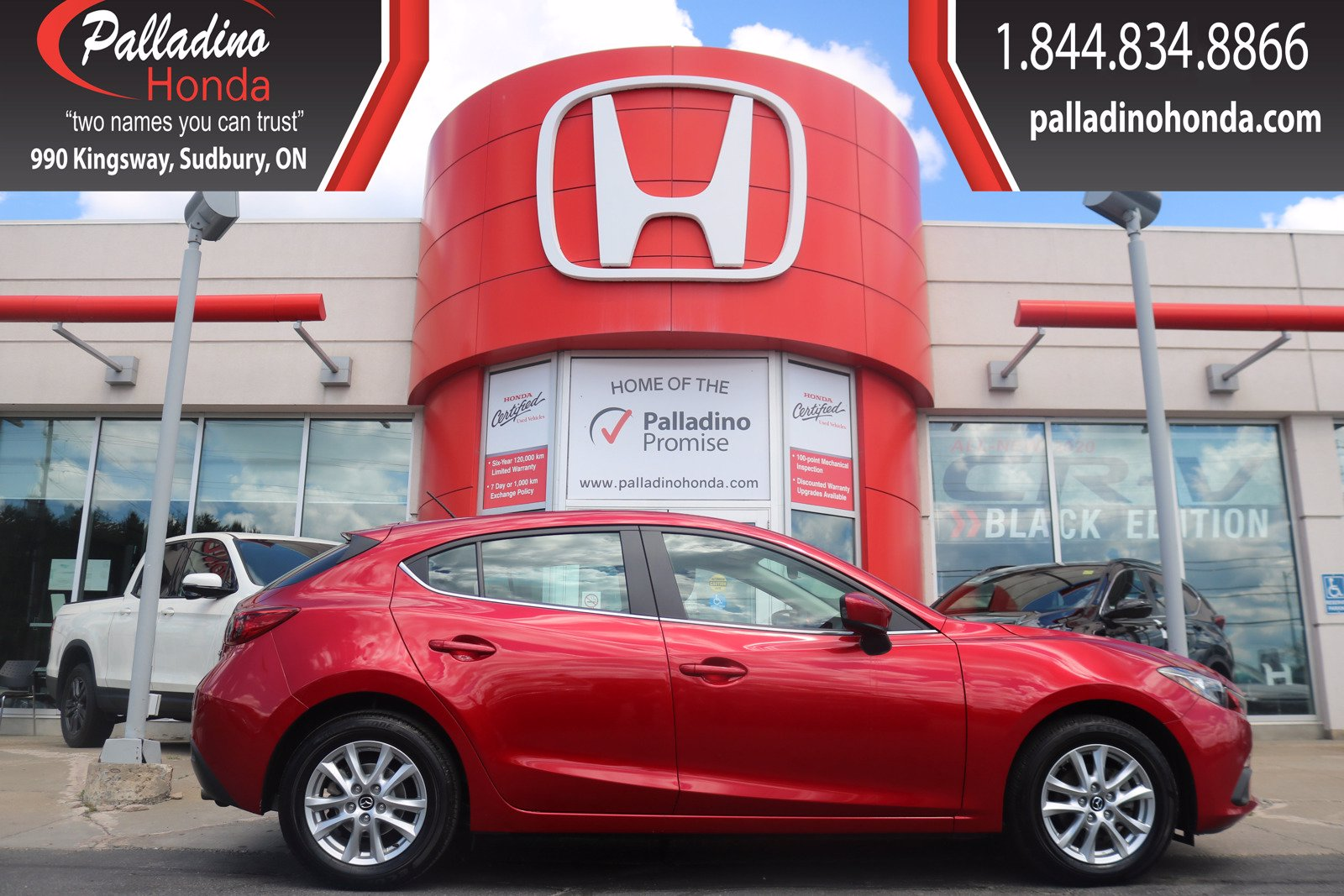 Pre-Owned 2016 Mazda3 GS- CERTIFIED-BLUETOOTH-LOW KM
