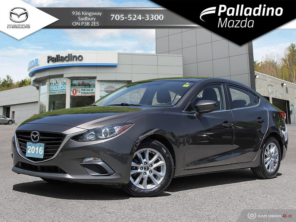 Pre-Owned 2016 Mazda3 GS - NAVIGATION - HEATED SEATS - BACKUP CAMERA