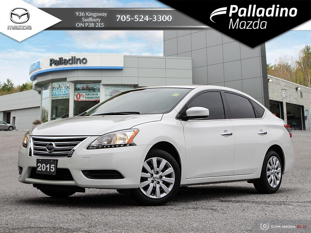 Pre-Owned 2015 Nissan Sentra 1.8 S - GREAT STARTER CAR - LOW MILEAGE