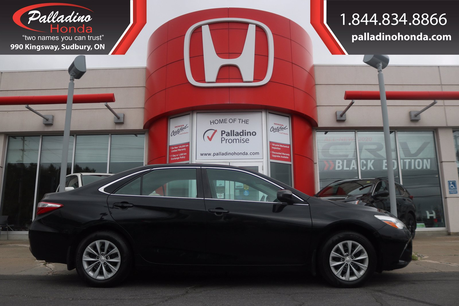 Pre-Owned 2016 Toyota Camry LOW KM- CERTIFIED - GOOD ON GAS