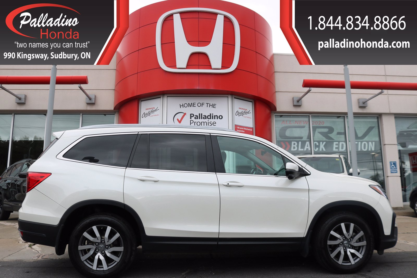 Pre-Owned 2019 Honda Pilot EX-L Navi-LEATHER-AWD-LOADED