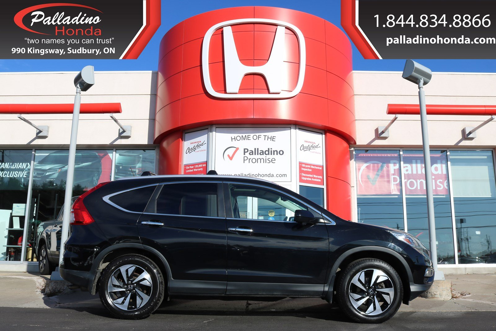 Pre-Owned 2015 Honda CR-V Touring-ALL WHEEL DRIVE, NAVIGATION,HEATED LEATHER SEATS