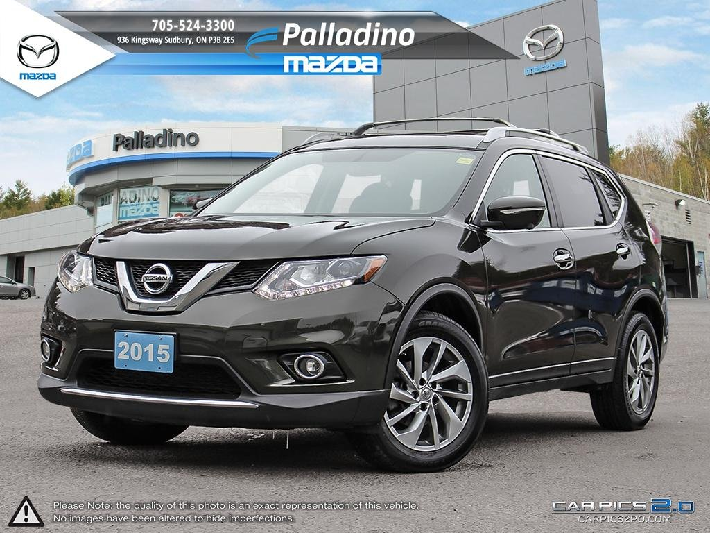 Pre-Owned 2015 Nissan Rogue SL - 2015 IIHS TOP SAFETY PICK - NEW BRAKES