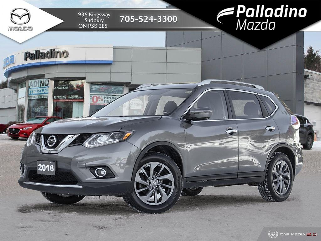 Pre-Owned 2016 Nissan Rogue SL - FULLY LOADED UNDER 18K - GREAT FAMILY SIZED VEHICLE