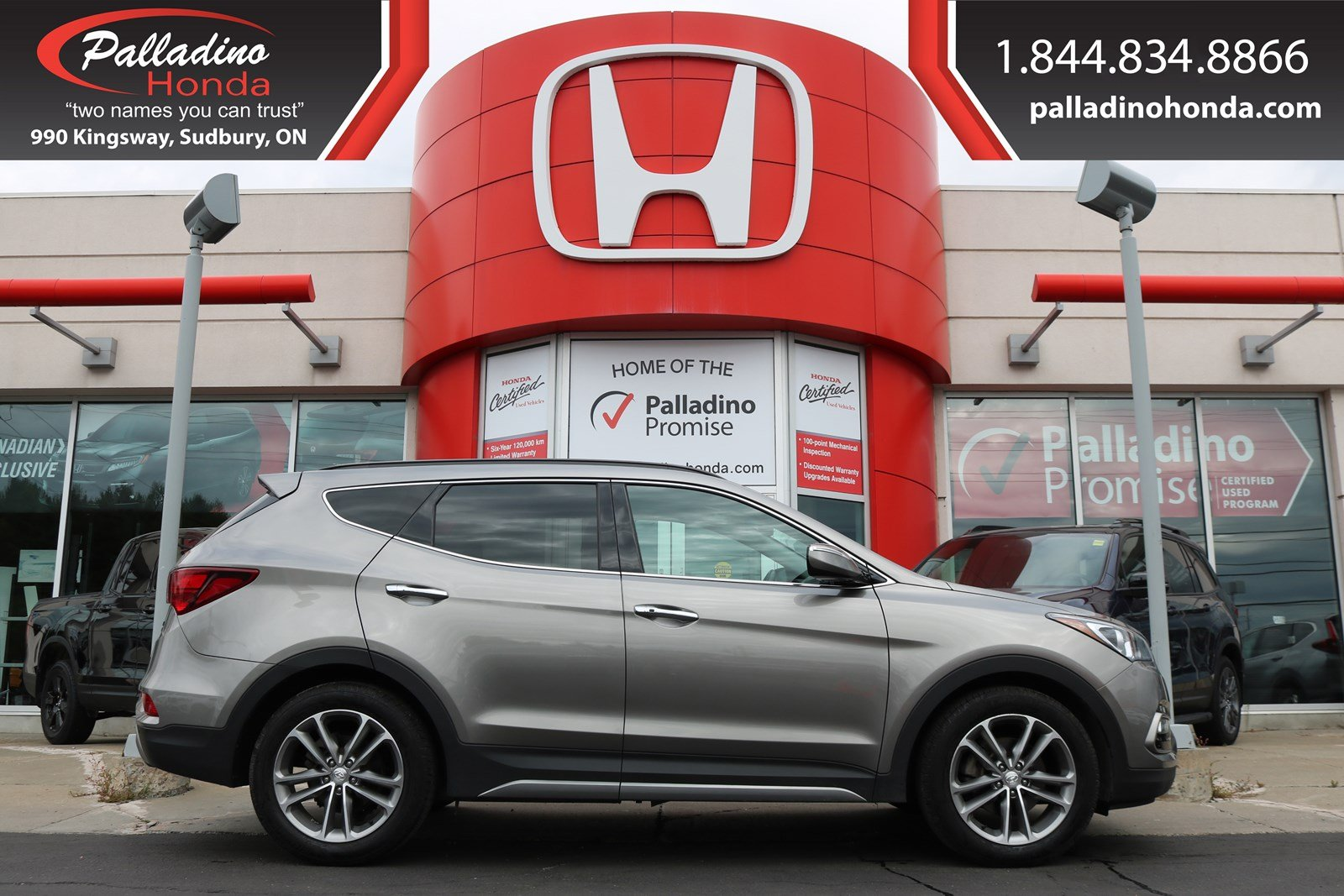 Pre-Owned 2018 Hyundai Santa Fe Sport Ultimate Tech Pkg-TURBOCHARGED, ALL WHEEL DRIVE, NAVIGATION