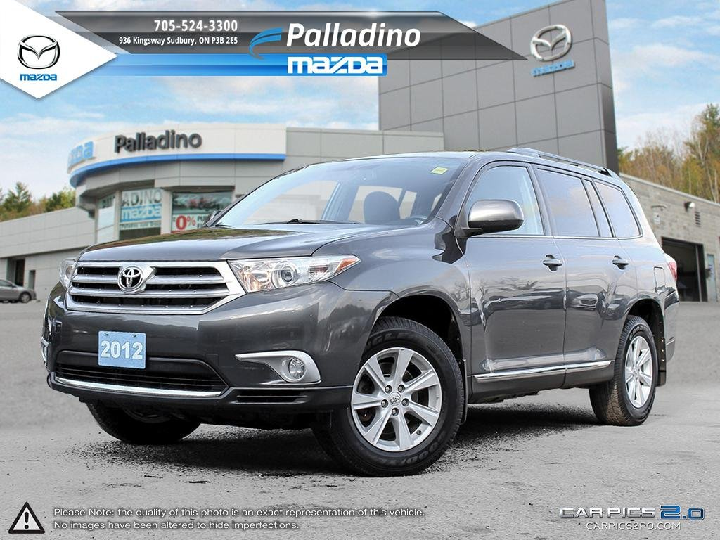 Certified pre owned 2012 toyota highlander reliable stylish