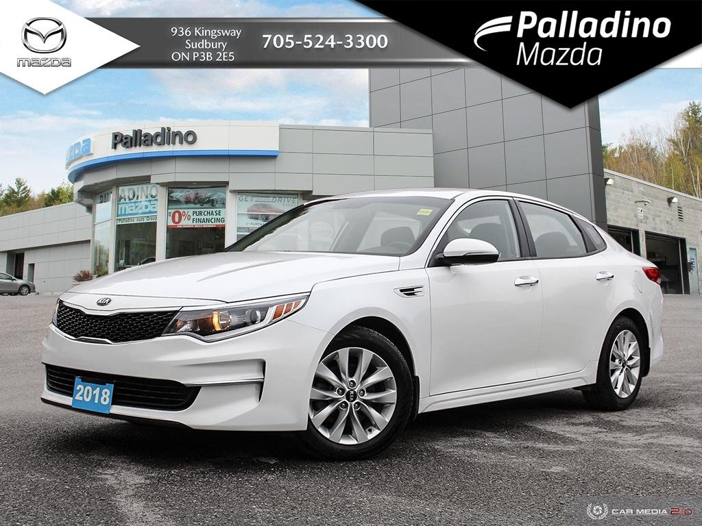 Pre-Owned 2018 Kia Optima LX+ - CLEAN SEDAN - NO ACCIDENTS