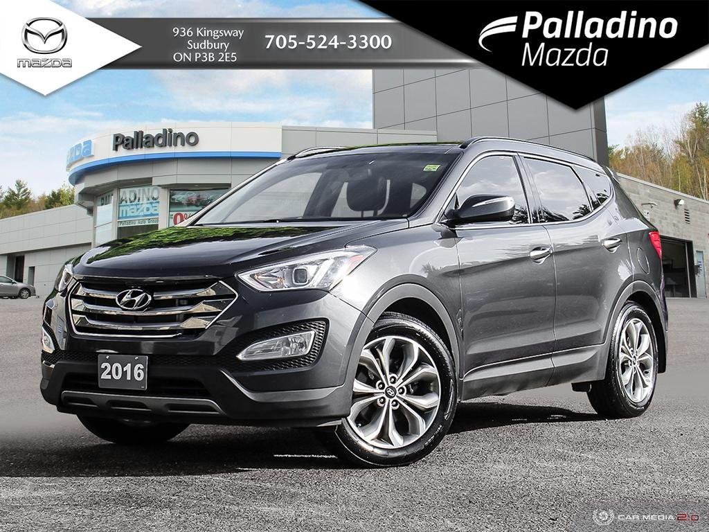 2016 Hyundai Santa Fe >> Pre Owned 2016 Hyundai Santa Fe Sport Limited Adventure Edition Vented Seats No Accidents