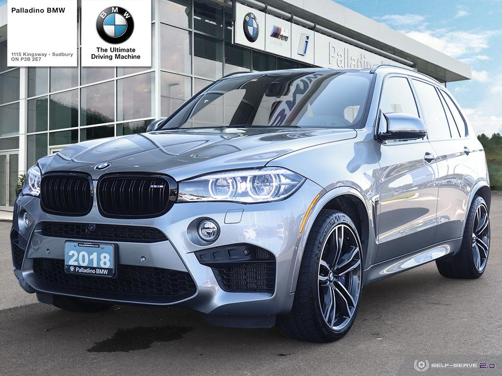 Certified Pre-Owned 2018 BMW X5 M