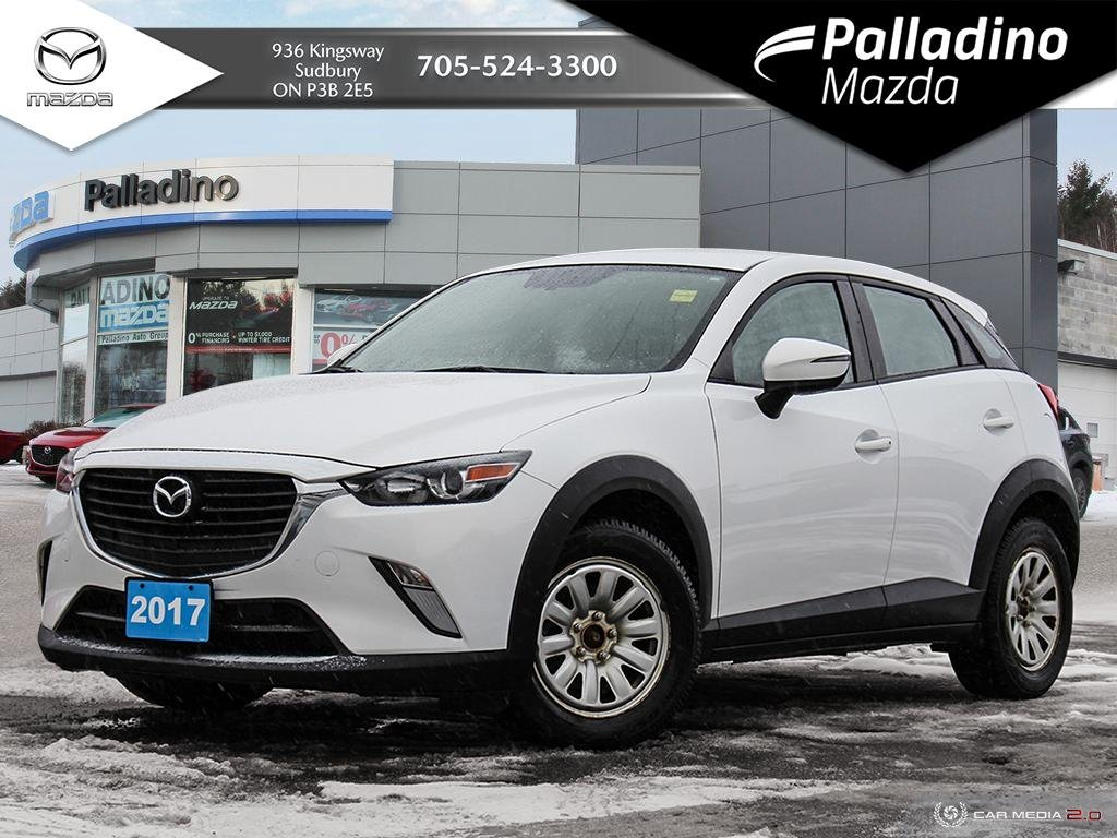 Pre-Owned 2017 Mazda CX-3 GS - SUMMER AND WINTER TIRES ON RIMS - LOW MILEAGE