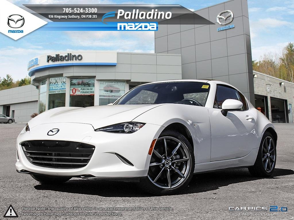 New 2017 Mazda MX-5 RF GT - RETRACTABLE HARDTOP - REAR WHEEL DRIVE - HEATED LEATHER